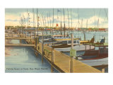 Dock, Key West, Florida Posters