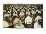 Cigar Factory, Tampa, Florida Print