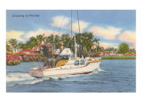 Motor Cruiser, Florida Print