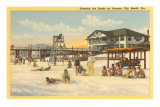 Beach, Panama City, Florida Posters