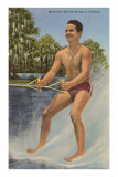 Barefoot Water Skier, Florida Photo
