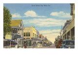 Duvat Street, Key West,  Florida Kunstdruck