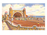 Band Shell, Daytona Beach, Florida Poster