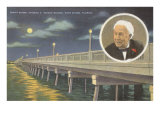 Edison Bridge, Ft. Myers, Florida Posters