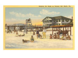 Beach, Panama City,  Florida Poster