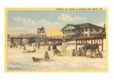 Beach, Panama City, Florida Posters