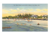 Strand, Fort Myers, Florida Poster
