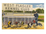 Greyhound Track, Flagler, Florida Giclee Print