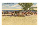Beach, Florida Posters
