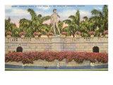 David Statue, Ringling Museum, Sarasota, Florida Posters