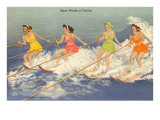 Water Skiers, Florida Posters