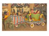 Circus Parade, Sarasota, Florida Posters