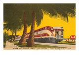 Streamlining through Florida, Train Posters
