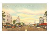 Washington Avenue, Miami Beach, Florida Posters