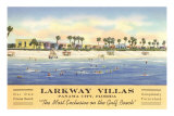 Larkway Villas, Panama City, Florida Posters