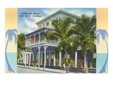 Overseas Hotel, Key West, Florida Posters