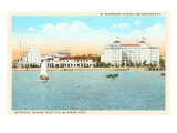 Waterfront, St. Petersburg, Florida Poster