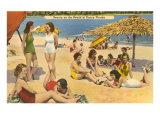 Belles baigneuses, Floride Poster