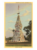 Monument of States, Kissimmee, Florida Poster