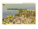 Aerial View of Sarasota, Florida Poster