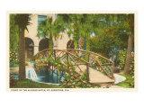 Hôtel Alcazar, Saint- Augustine, Floride Affiche