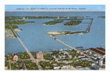 Causeways, Miami Beach, Florida Print