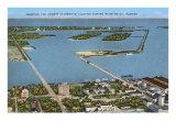 Causeways, Miami Beach, Florida Print