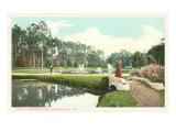 Riverside Park, Jacksonville, Florida Posters