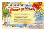 Florida on Parade, Lyrics Posters