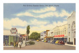 Business District, Vero Beach, Florida Posters