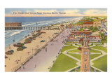 Pier, Casino, Daytona Beach, Florida Poster
