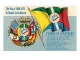 Flag of Ybor City, Florida Poster