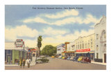 Business District, Vero Beach, Florida Poster
