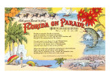 Florida on Parade, Lyrics Print