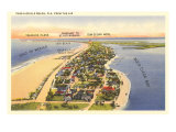 Pass-a-Grille Beach, Florida Kunstdruck