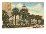 City Hall, Jacksonville, Florida Posters