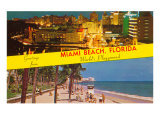 Greetings from Miami Beach, Florida Posters