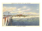 Beach and Casino, Pensacola, Florida Posters
