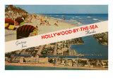 Greetings from Hollywood-by-the-Sea, Florida Posters