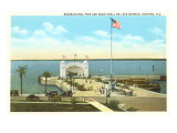 Pier on Lake Monroe, Sanford, Florida Posters