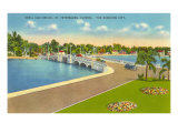 Bridge, St. Petersburg, Florida Posters