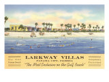 Larkway Villas, Panama City, Florida Poster