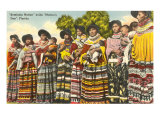 Female Seminoles, Florida Print