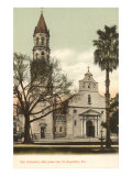 Cathedral, St. Augustine, Florida Poster
