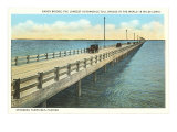 Gandy Bridge, Tampa Bay, Florida Poster