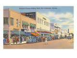 Downtown Ft. Lauderdale, Florida Kunstdruck