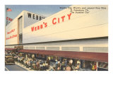 Webb's City Drug Store, St. Petersburg, Florida Poster