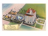 Raleigh Hotel, Miami Beach, Florida Poster