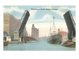 Washington Street Bridge, Chicago, Illinois Posters