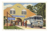 Aquarium, Key West, Florida Posters